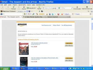 AmazonEmail-SiFi-AssassinAndPrinceNo1