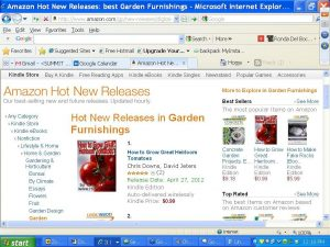 Chris Downs book How to Grow Great Heirloom Tomatoes #1 in Hot New Releases for 7 days straight!