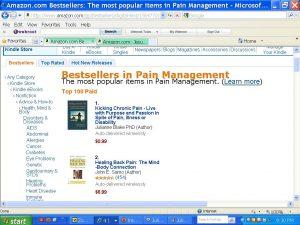 Kicking Chronic Pain by Dr. Julianne Blake, #1 bestseller