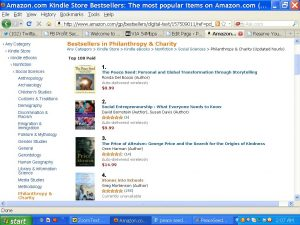 The Peace Seed, #1 Bestselling Book