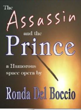 Cover of The Assassin and the Prince YA fantasy romance novela by Ronda Del Boccio