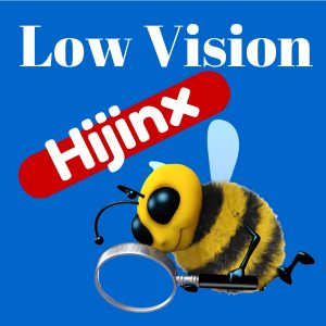 Low Vision Hijinx Podcast: Not Much Eyesight - Plenty of VISION!