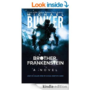 Brother, Frankenstein amish science fiction book by Michael Bunker