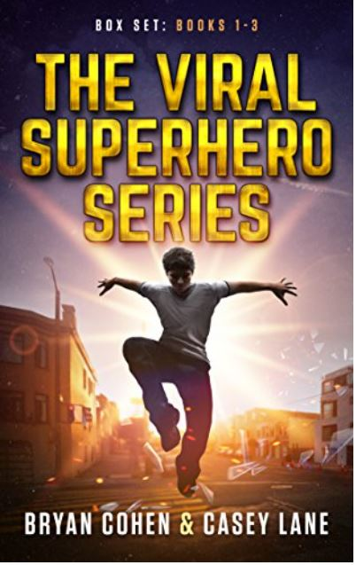 The Viral Superhero Series Box Set