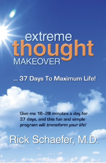 Cover of Extreme Thought Makeover by Dr. Rich Schaefer